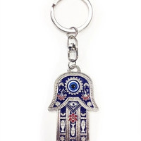 Evil Eye Lucky Eye Hand Of Fatima Evil Eye Hamsa Key Chain