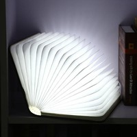 Folding Book Table Lamp Night Light