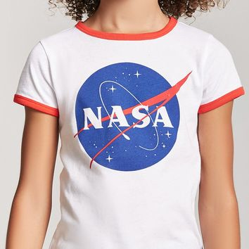 Girls NASA Ringer Tee (Kids)