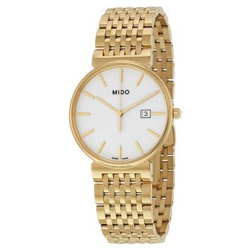 Mido Dorada White Dial Ladies Watch M009.610.33.011.00