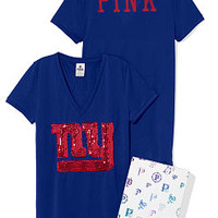 New York Giants Bling Athletic Tee - PINK - Victoria's Secret