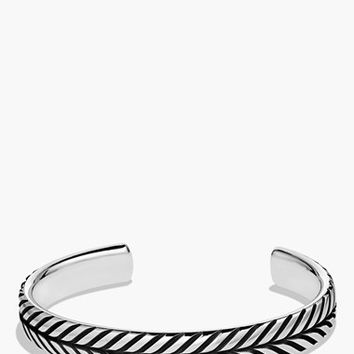 Men's David Yurman 'Modern Chevron' Cuff Bracelet