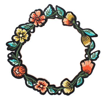 Wreath Patch