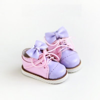 Blythe Patent leather Girlish Big Bow Sneakers | Sports  Shoes  | Blythe shoes | Doll Shoes | JerryBerry, Dal, Pullip , AZONE S,