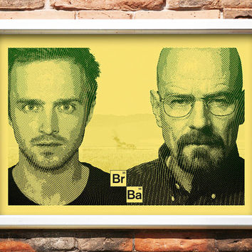 Warning: Extremely Volatile - Breaking Bad - 2-Color Screenprint