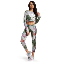 adidas Originals Training Leggings Floral Pack | JD Sports