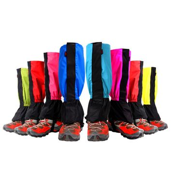 Hiking Ski Mountaineering Equipment Waterproof Breathable Gaiters Lengthened Waterproof mud proof snow boot cover