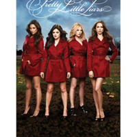 Pretty Little Liars Red Coats Poster