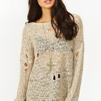 Holey Dolman Knit