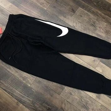 PEAPNQ2 Nike Hybrid Swoosh Joggers Woman Men Fashion Pants Trousers Sweatpants