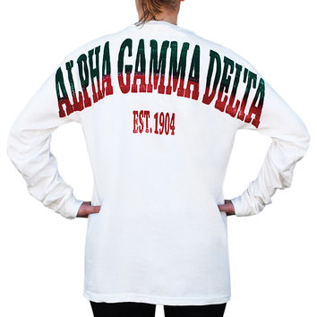 Alpha Gamma Delta Color Series Stadium Jersey
