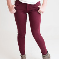 Red Hot Skinny Jeans - Final Sale
