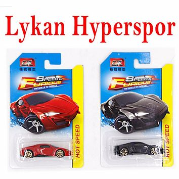 1:64 Hot Wheels Cars Toy Fast and Furious Diecast Pocket Car Models For Boy Alloy Car Toys Sports Car Gifts Box Gifts Collection