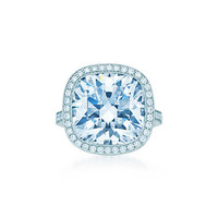 Tiffany & Co. - Cushion-cut Diamond Ring