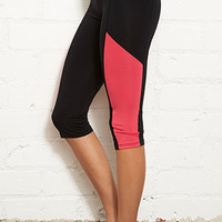 Colorblocked Performance Capris