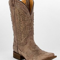 Corral Wing Inlay Cowboy Boot