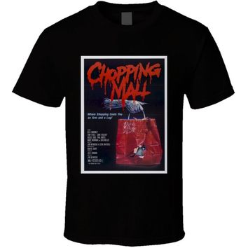 Chopping Mall 80's Cult Horror Movie T Shirt