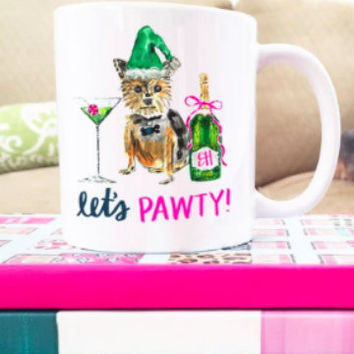 Holiday Pawty Mug