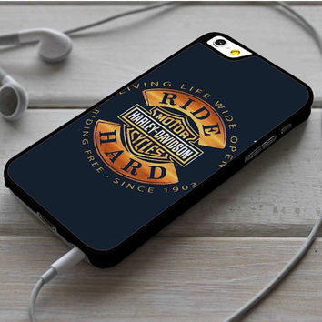 Harley Davidson Motorcycles Ride Hard Since iPhone 6 | 6 Plus Case Dollarscase.com