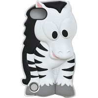 Griffin Technology - KaZoo Case for 5th-Generation Apple® iPod® touch - Black/White