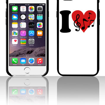 I love Music - Notes 5 5s 6 6plus phone cases