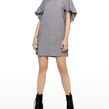 Women's BCBGeneration Ruffle Sleeved Shift Dress