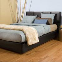 Queen-size Black Platform Bed Kit | Overstock.com