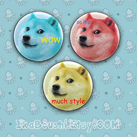 DOGE Inspired Pins