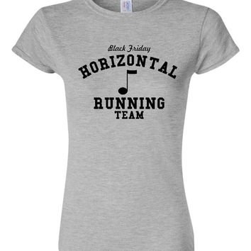 Horizontal Running Team Pitch Perfect Fan T Shirt Funny Running Team T Shirt