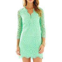 Lilly Pulitzer Meryl Long Sleeve Lace V-Neck Dress