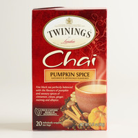 Twinings Pumpkin Spice Chai, 20-Count - World Market