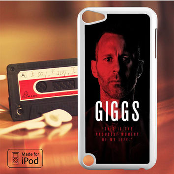 Giggs Manchester United iPod Touch 4 iPod Touch 5 iPod Touch 6 Case
