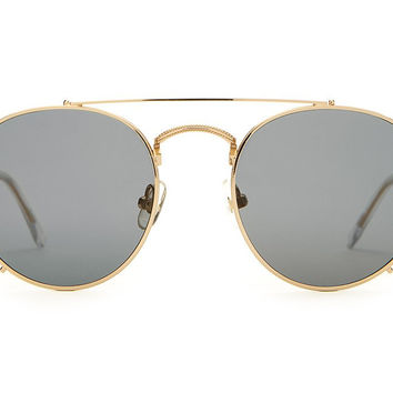 The Tuff Patrol Sunglasses in Silver/Gold
