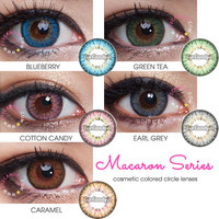 Royal Vision Macaron (Puffy 3 Tones) circle lens - color contacts | EyeCandy's