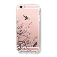 Flying Birds iPhone 6 Case, iPhone 6s Plus Case, Galaxy S6 Edge Case C035