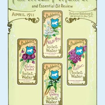 American Perfumer and Essential Oil Review, April 1911 20x30 poster