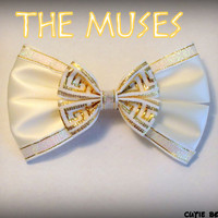 The Muses Hair Bow Hercules Disney Inspired by bulldogsenior08