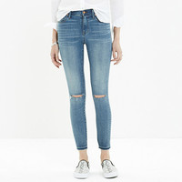 HIGH RISER SKINNY SKINNY CUT-EDGE JEANS IN JASPER