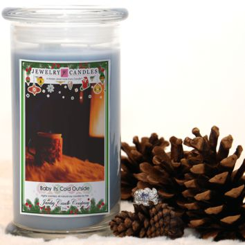 Baby Its Cold Outside Jewelry Candle