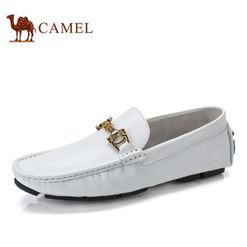 Camel 2017 spring new arrival classic Moccasins shoes men's shoes foot wrapping loafer shoes