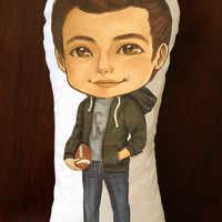 Cory Monteith Pillow Doll by knucklehead8 on Etsy