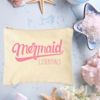 Mermaid Essentials Makeup Bag
