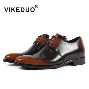 Luxury Classic Fashion Height Increase Male Dancing Formal Shoe Genuine Leather Men's Footwear Mens Derby Shoes