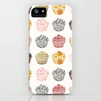 when you look at a cupcake you've got to smile iPhone & iPod Case by Danny Ivan
