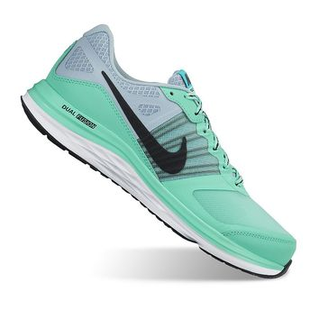 Nike Dual Fusion X Women's Running Shoes (Green)