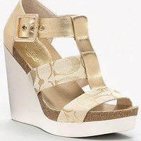COACH LEDA WEDGE - SANDALS - COACH - Macy's