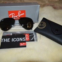 Ray Ban RB3025 Aviator L020558 {Factory New, Free Shipping}