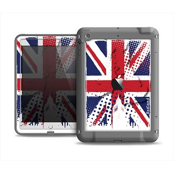 The Grunge Vector London England Flag Apple iPad Air LifeProof Fre Case Skin Set