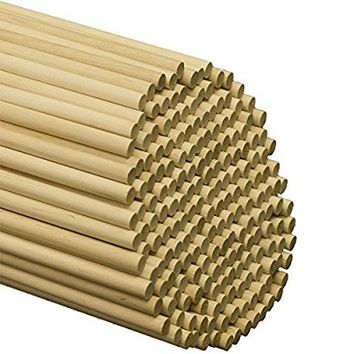 "Wooden Dowel Rods 3/8"" x 12"" - Bag of 25"