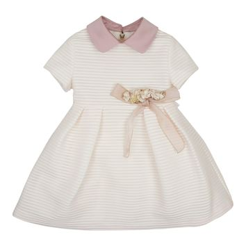Barcarola Girls' Box Pleat Occasion Dress